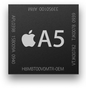 A5 Chip on the iPad Mini