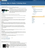 A Monitor Blog For Display Technology News