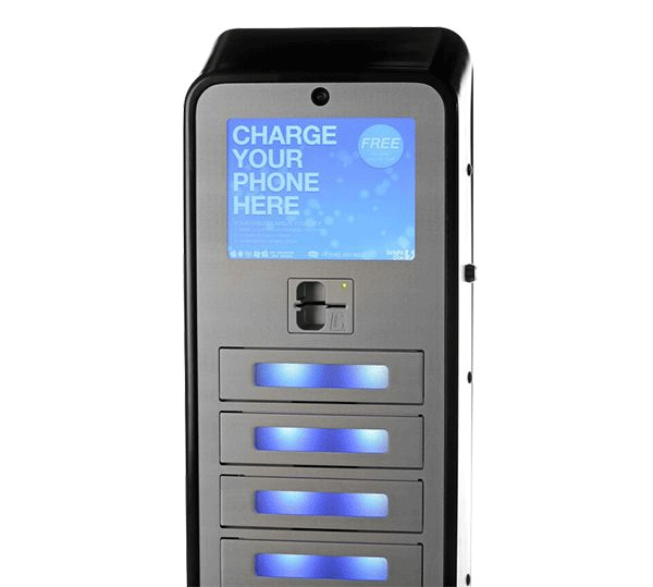 Cell Phone Recharging Station Kiosk Rentals