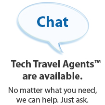 Chat with a Tech Travel Agrent