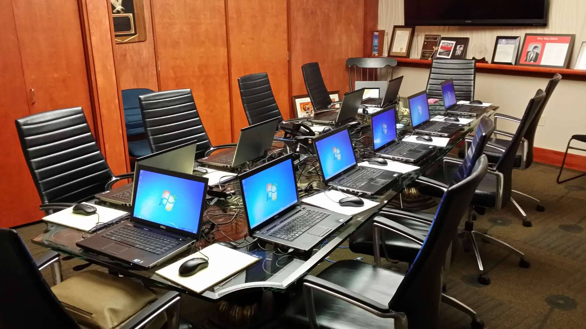 Windows Laptops For Training Class