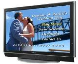 Wedding Plasma Flat Screen Rental.