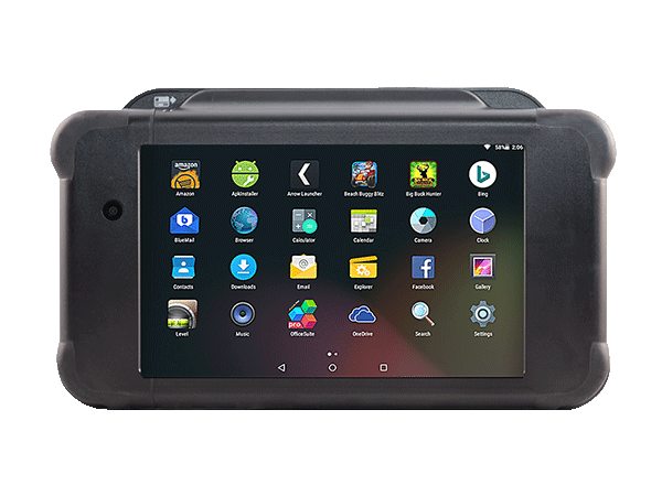 Buzztime Rugged Tablet