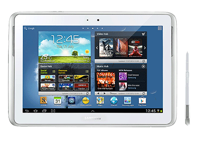 Samsung Galaxy Note Tablet Rental