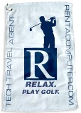 Free Golf Towel Offer from your Tech Travel Agent (Computer Rental)
