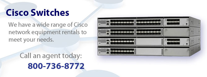 We can supply you with Cisco switches