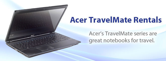 Acer TravelMate Laptop Rentals