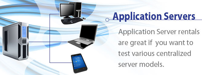 Application Server Rentals