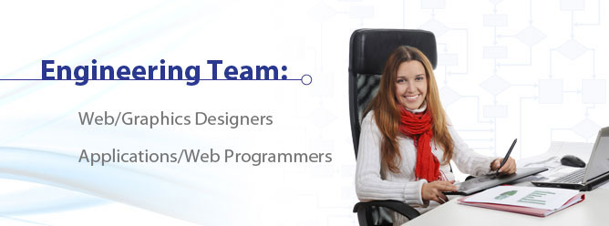 Engineering positions: Web/Graphics Designers, Applications/Web Programmers