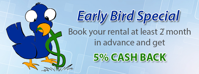 Early Bird Discount!