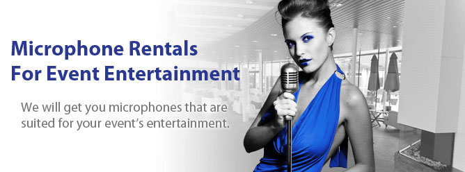 Microphone Rentals for Event Entertainment