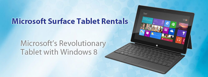 Microsoft Surface Rentals