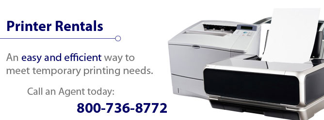 An easy and efficient way to meet temporary printing needs.
