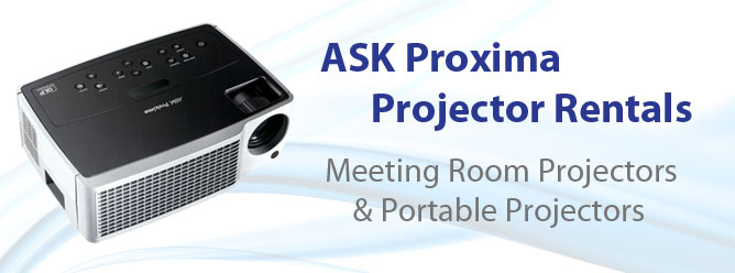 Proxima Projector Rentals for meetings and presentations.