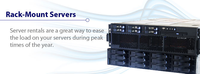 Server rentals are a great way to ease the load on your servers during peak times of the year