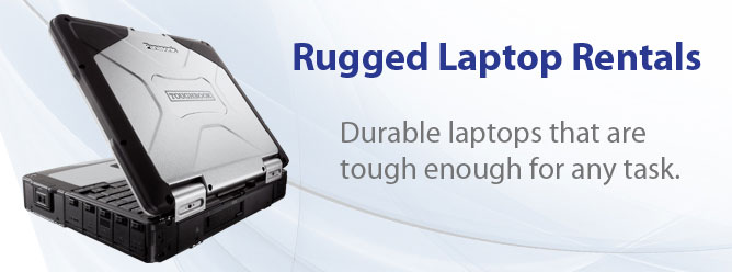 "A Tech Travel Agent is your ""One Point of Contact"" for Rugged Laptop Computer Rentals"