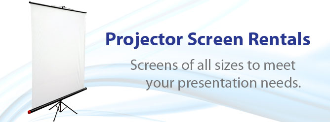Projector Screen Rentals