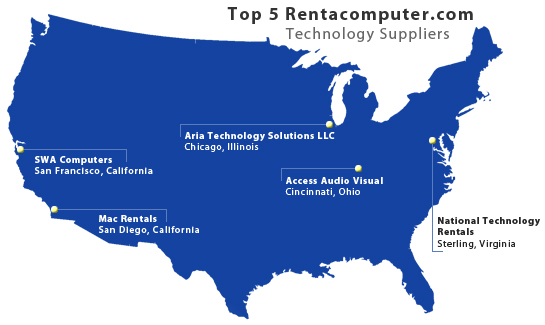 Rentacomputer.com's Top 5 Suppliers